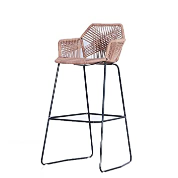 Chaise En Osier Table Haute Et Chaises Plein Air Bar Tabouret