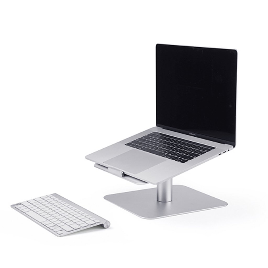 XY Soap dish Rotary Notebook Laptop Creative Stand Holder, Apple Radiator Base Desktop Aluminum Notebook Desktop, Aluminum Notebook Base Creative Holder, 26cm16cm9.3cm by XY Soap dish (Image #6)