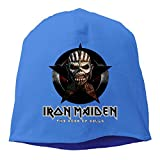 Iron Maiden The Book Of Souls Beanie Hat Knit Slouchy Hat Toboggan Winter Hat
