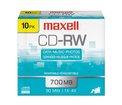 Maxell MAX630011  4x CD-RW Media