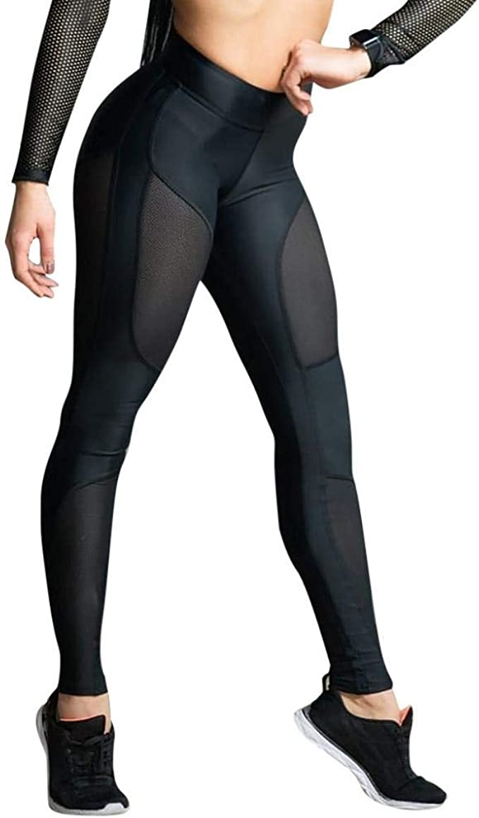 VJGOAL Moda Casual para Mujer Fitness Sports Gym Leggings ...