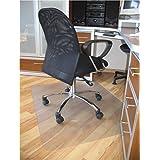 ProSource 48 x 36 Clear Multitask Office Chair Floor Mat for Hardwood Floors
