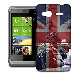 Phone Case For HTC Radar - SAS Special Forces Inspired Glossy Premium