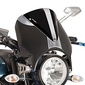 Windschild Yamaha XSR 900 16 17 Puig Vision Schwarz