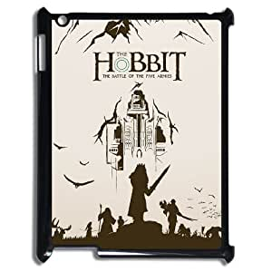DIY Cover Case with Hard Shell Protection for Ipad2,3,4 case with The Hobbit lxa#342357