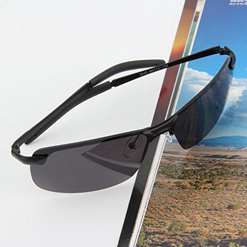 Fansport pour Soleil de Protection Lunettes UV400 Extérieur Hommes pour Soleil Pêche Conduire des Polarisées de Lunettes de de Lunettes Lunettes Soleil l rHqUOn5rw