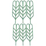 RTWAY Garden Trellis, Mini Climbing Trellis for DIY Garden Plant Pot Support,4'' W x 14''H, 6 Pieces