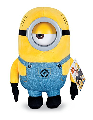 Despicable Me Huggable Plush Minion Mel Toy Figure]()