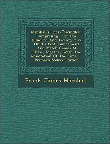 Book Marshall's Chess