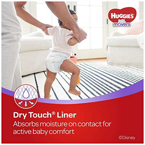 HUGGIES Little Movers Diapers, Size 5, 124 Count (Packaging May Vary) by Huggies (Image #8)