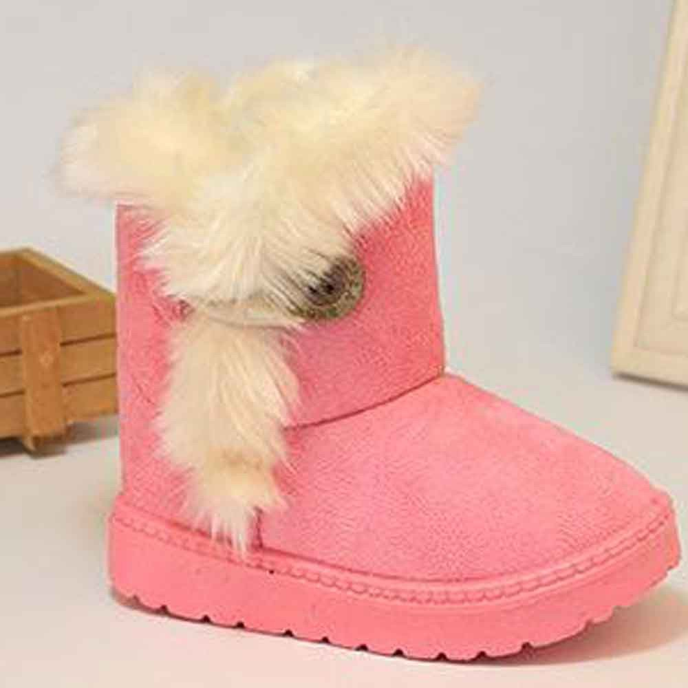 CYCTECH Fashion Baby Winter Boots Toddler First Walkers Soft Warm Flat Shoes
