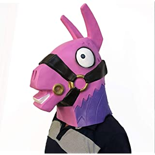Fortnite Mask for Adult Halloween Cosplay Mask Costume Game Toy(Llama)