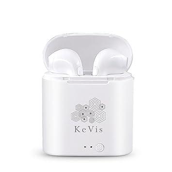 KeVis - Auriculares inalámbricos con Bluetooth y Bluetooth para Android e iOS: Amazon.es: Electrónica