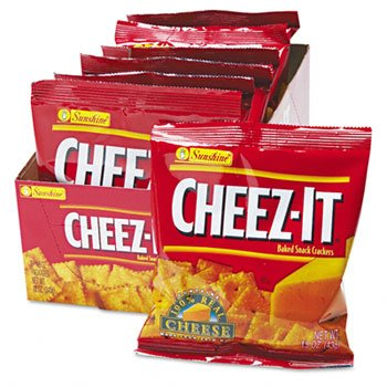 Sunshine® Cheez-It® Crackers CRACKER,CHZIT,1.5OZ (Pack of10)