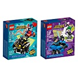 lego ice cream man - LEGO Super Heroes Micro Batman Joker Bundle Building Kit (170 Piece) Stacking Toys