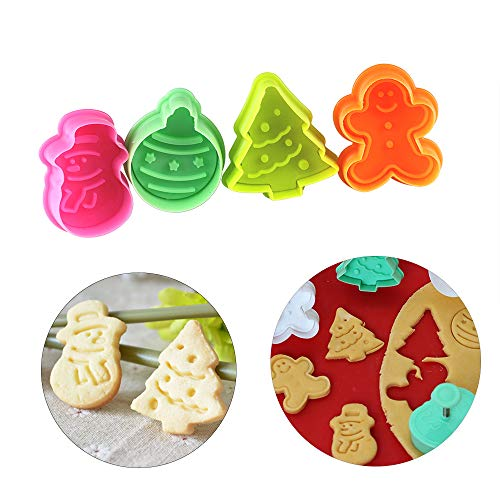 Christmas cookie cutter Baking Pastry Stamp ManSnowman Biscuit