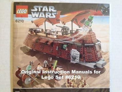 Amazon Instruction Manuals For Lego Star Wars Set 6210