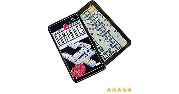 Z&H Set Domino Doble 6 Color 28 pcs Domino Juego de táctica - Juego de Mesa (Juego de táctica, Niños y Adultos): Amazon.es: Juguetes y juegos