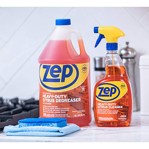 Zep Heavy-Duty Citrus Degreaser and Cleaner 24 Ounce