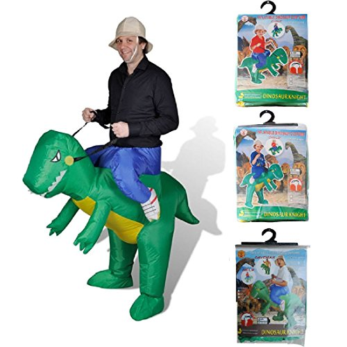 Dinosaur Costume Birthday Party Dress Inflatable Dino Halloween (Dino Fancy Dress Inflatable Suit)