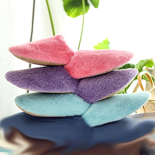 Plush Purple Indoor Bigmai Color Slipper Warm Solid Couples Slipper Men Shoe Women House AA7FR8