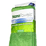 Amazon Lightning Deal 100% claimed: Nano Towels The #1 Best Selling Eco Friendly Chemical Free Cleaner. As Seen On TV! The Breakthrough New Fabric Technology That Cleans with Only Water, Replaces Expensive Paper Towels, Sponges, Cleaning Cloths, Wipes...
