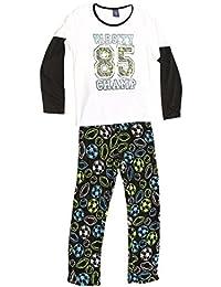 Plush Pajama Set For Boys