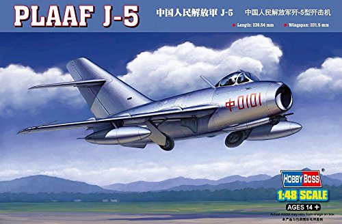 Hobby Boss PLAAF J-5 fighter Airplane Model Building Kit