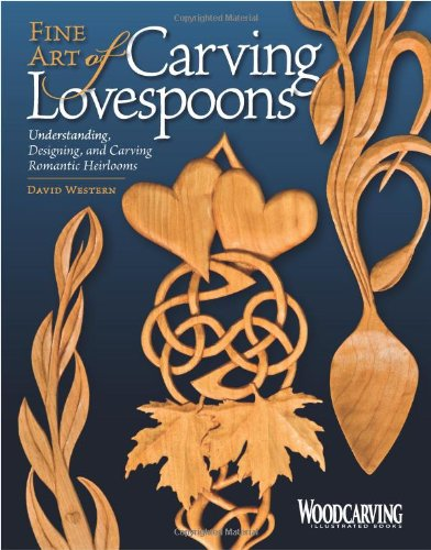 Fine Art of Carving Lovespoons: Understanding, Designing, and Carving Romantic Heirlooms (Woodcarving Illustrated (Heirloom Wood)