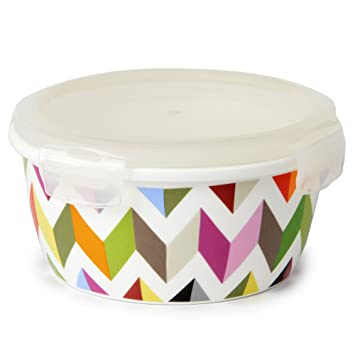 Porcelain Food Storage Container - Lunch Airtight Lid -  sc 1 st  Amazon.com & Amazon.com: French Bull 21 oz. Porcelain Food Storage Container ...