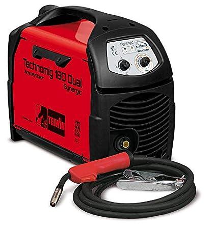 Soldadura Technomig a hilo Inverter 180 Dual Synergic 230 V Cod. 816054 Telwin