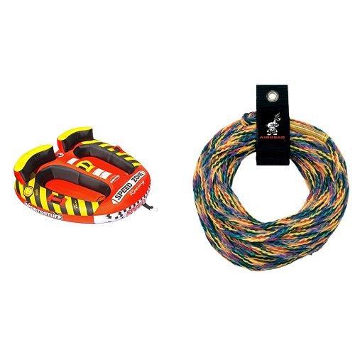 Sportsstuff Speedzone Towable Tube (Sportsstuff Speedzone 2 Rope Bundle)