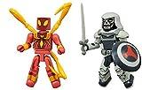 Marvel Minimates Ultimate Spider-Man Web Warriors Iron Spider and Taskmaster 2-Pack