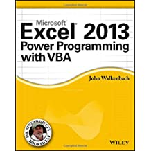 Excel 2013 Power Programming with VBA