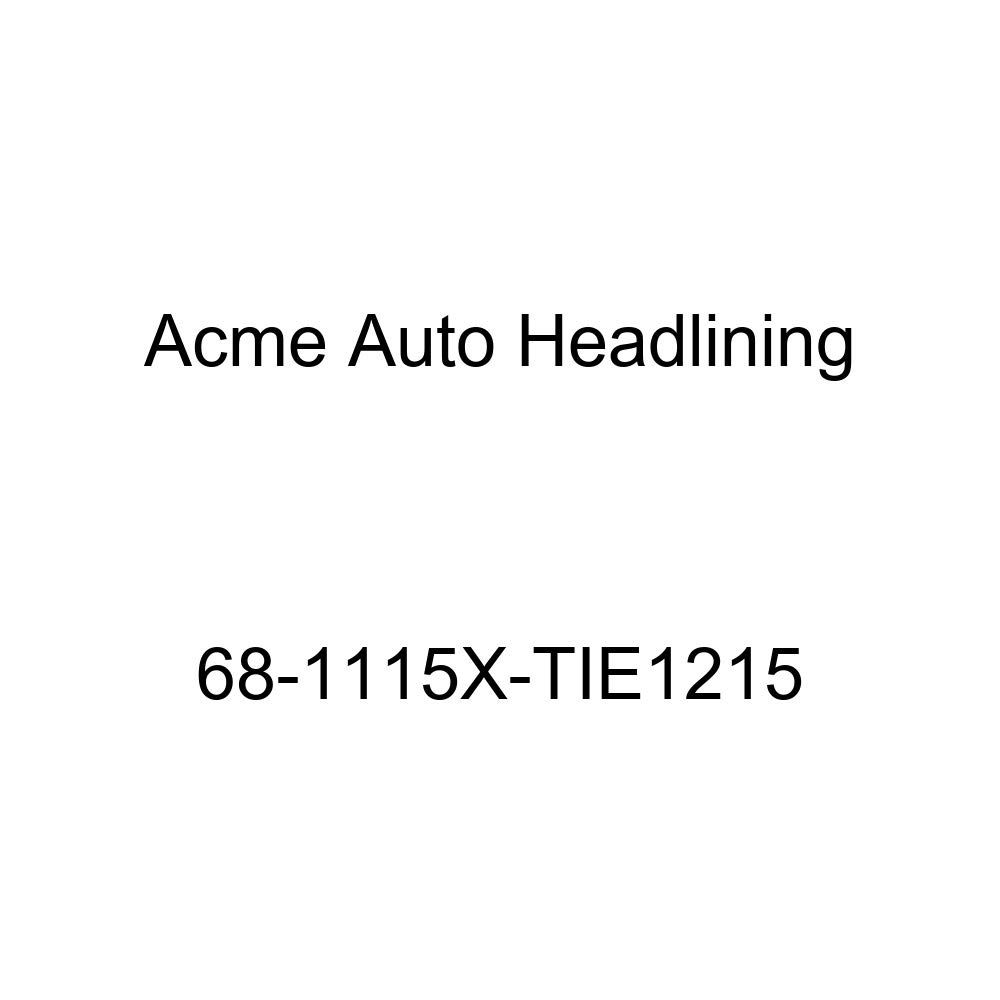 Acme Auto Headlining 68-1115X-TIE1215 Turquoise Replacement Headliner Conversion Buick Electra 4 Dr Hardtop w//Original Board Headliner
