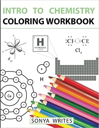Amazon.com: Intro to Chemistry Coloring Workbook (9781530439799 ...