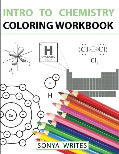 Intro Chemistry Coloring Workbook Writes product image