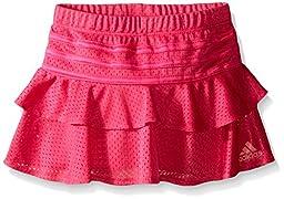 adidas Toddler Girls\' Active Sport Skort, Pink, 2T
