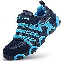 DADAWEN Boy's Girl's Casual Strap Light Weight Sneakers Running Shoes(Toddler/Little Kid/Big Kid)