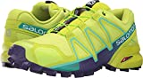 Salomon Women's Speedcross 4 Trail Running Shoe (9 B(M) US, Lime Punch)