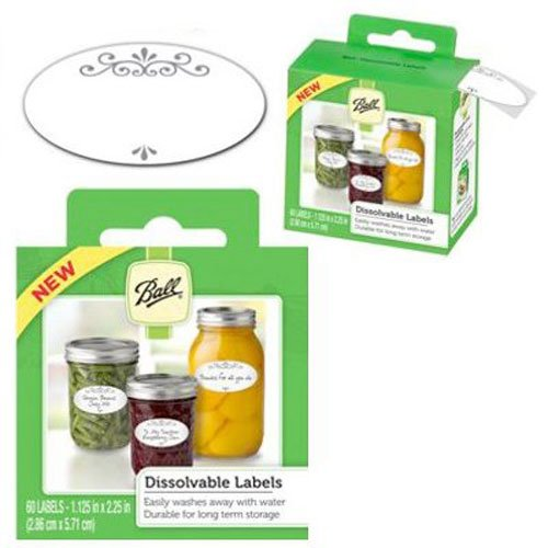 Ball Dissolvable Labels Set 60 product image
