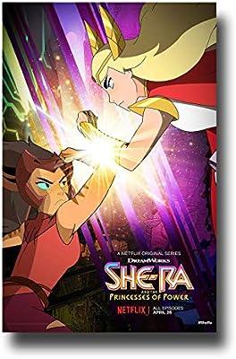 She Ra Poster TV Show Promo 11 x 17 Pulgadas 2 Pulseras: Amazon.es ...