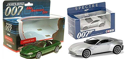 Spectre James Bond Car Set Aston Martin DB10 Corgi + Die Another (Mach 5 Replica Car)