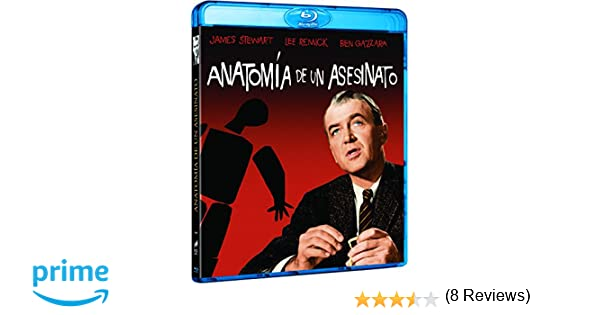 Anatomía De Un Asesinato [Blu-ray]: Amazon.es: James Stewart, Lee ...