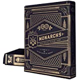 Theory11 Monarch Playing Cards (Black, 3.5 x 2.5-Inch)