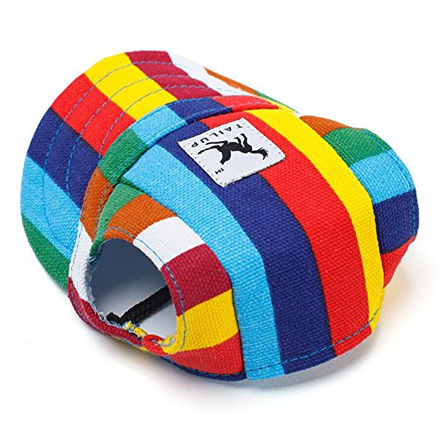 Top Hat Foods - RLgoods Dog Hat-Pet Baseball Cap with Ear Holes for Small Dogs M