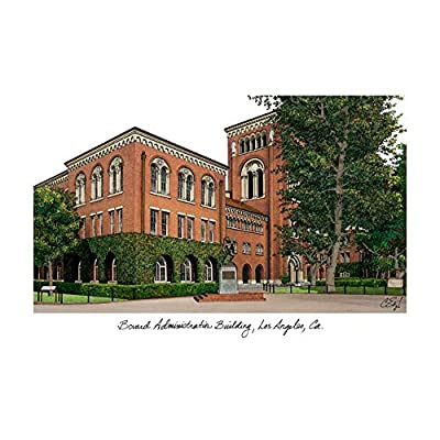Campus Images University of Southern California Campus Images Lithograph Print