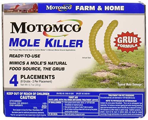 Motomco Plac Mole Killer Grub Formula (8 Placements) -