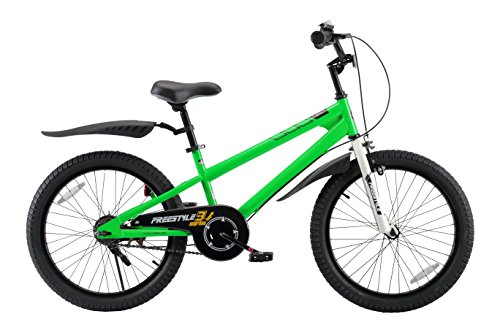 Royalbaby BMX Freestyle Kid's Bike, 20 inch Wheels, Green