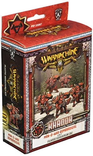 Privateer Press - Warmachine - Khador Man-O-War Bombardiers (Plastic) Model Kit 3